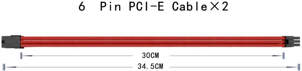 upHere Sleeved Cable Extension