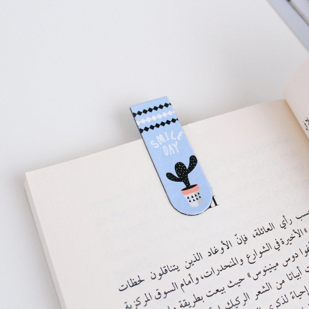 فاصل كتاب مغناطيس قرطاسية أدوات مكتبية نادي القراءة لوازم المكتبة