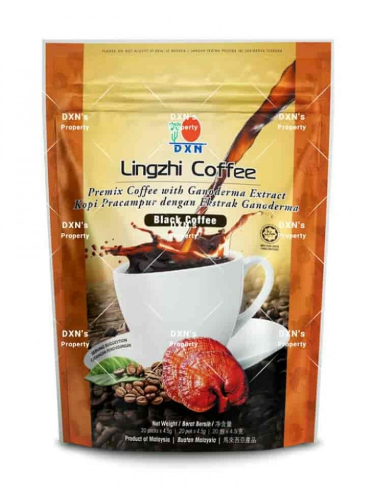 قهوة لينجزي السوداء