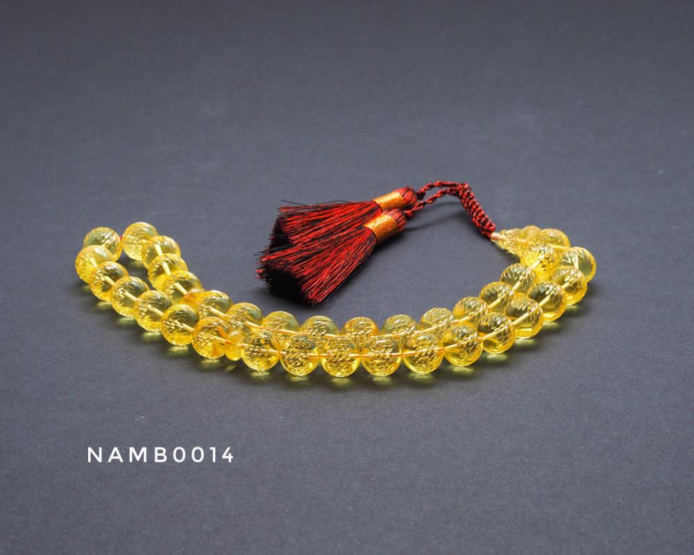 قوافل سبحة كهرمان بلطيقي طبيعي Namb0014