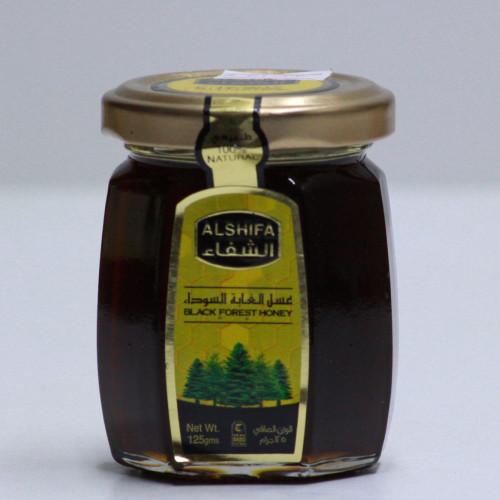 عسل الغابه السوداء الشفاء الاصلي 125جرام قهوة و بهارات امي
