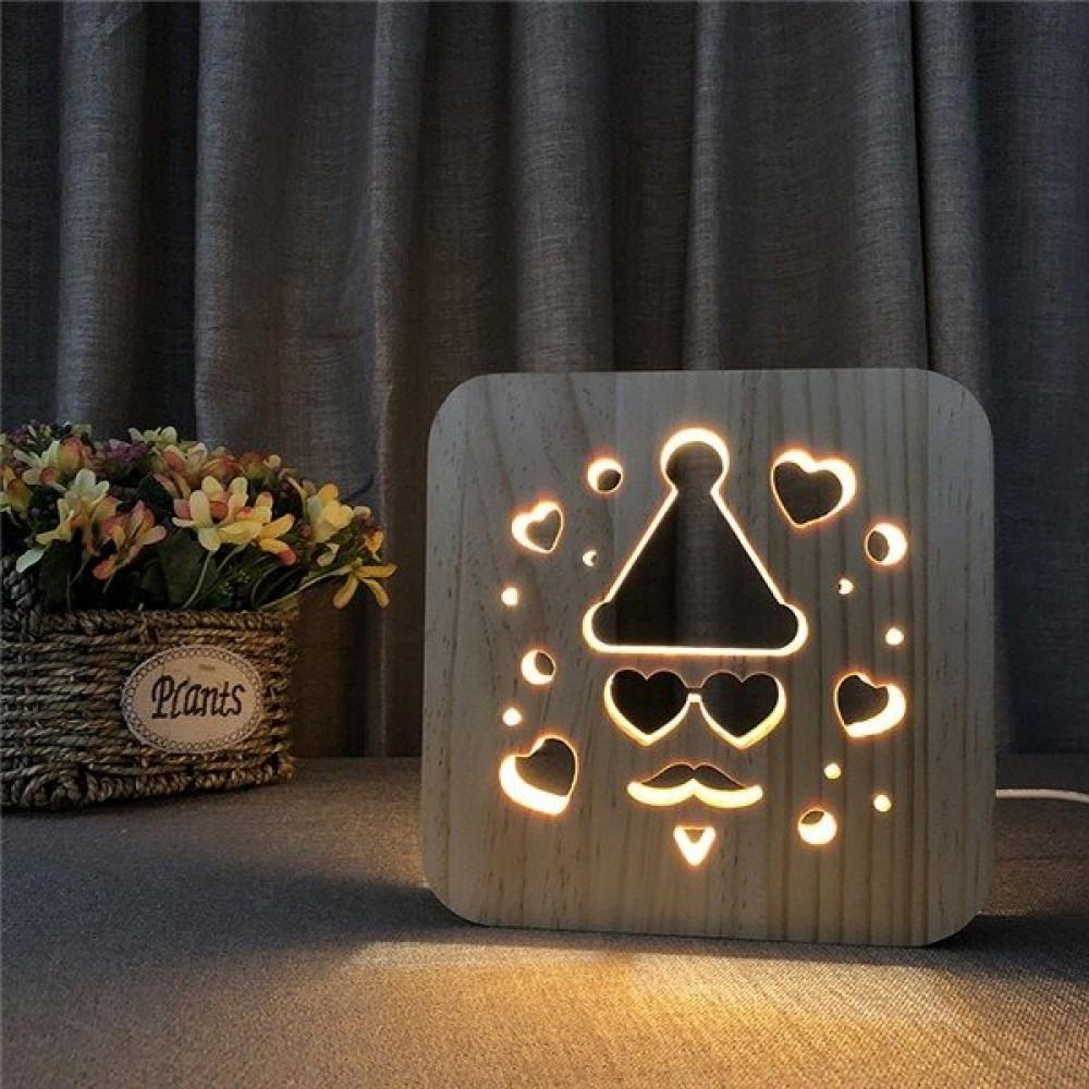 مواسم تحفة خشبية ثلاثية الأبعاد بتصميمك أنيق يناسب الاحتفالات