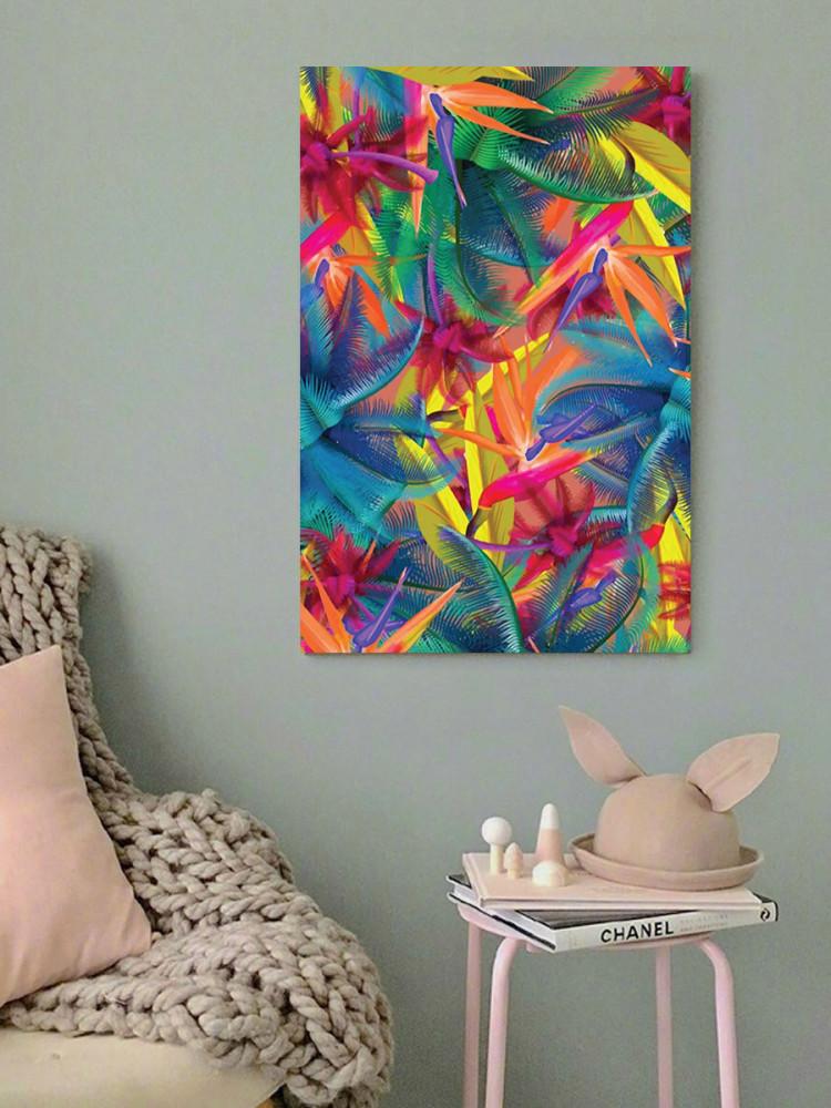 لوحة ألوان زاهية خشب ام دي اف مقاس 40x60 سنتيمتر