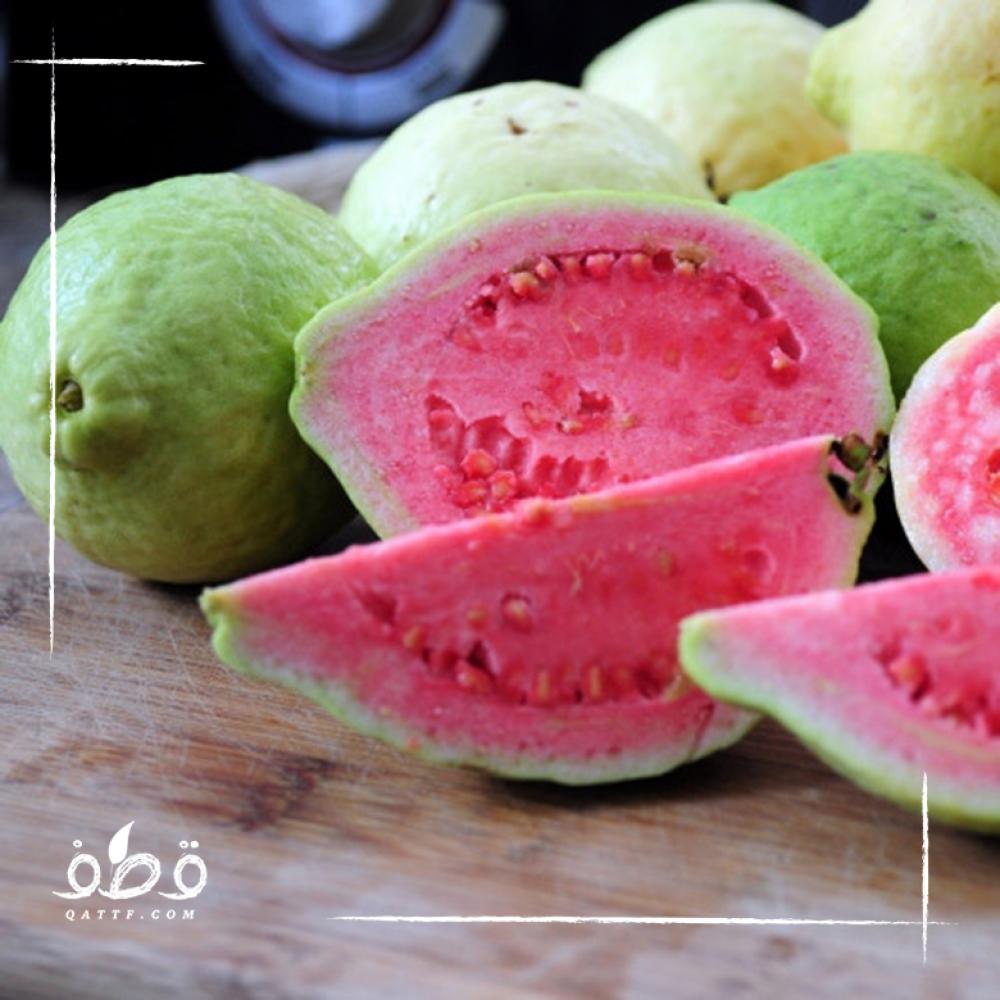 الجوافة الحمراء - Psidium guajava