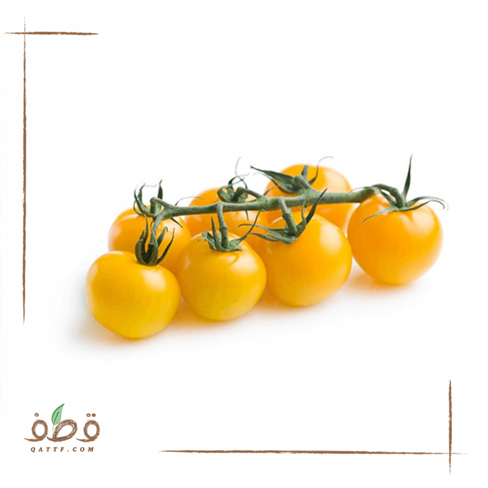 بذور طماطم كرزي  شيري أصفر برتقالي