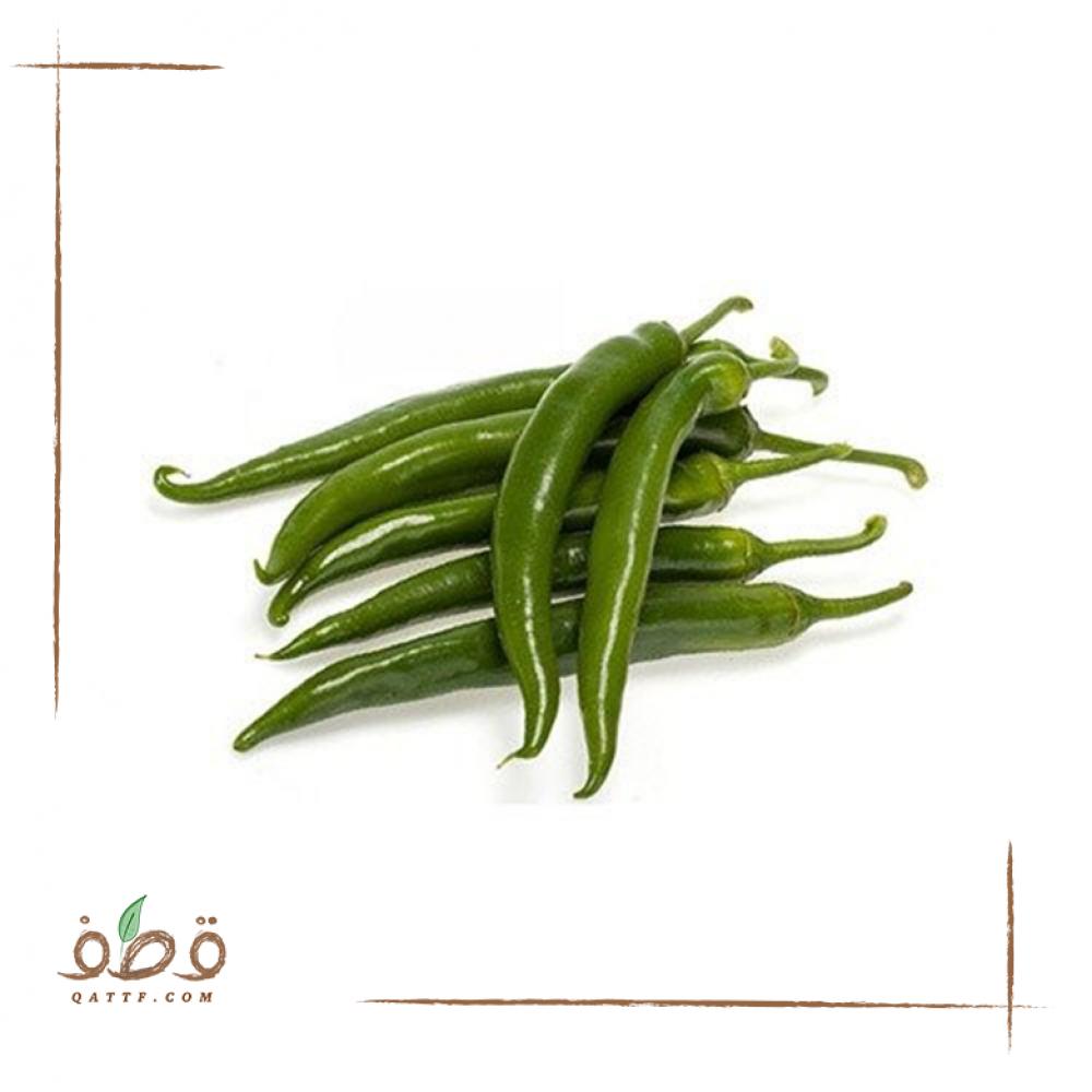 بذور الفلفل الاخضر الحار الطويل Green pepper