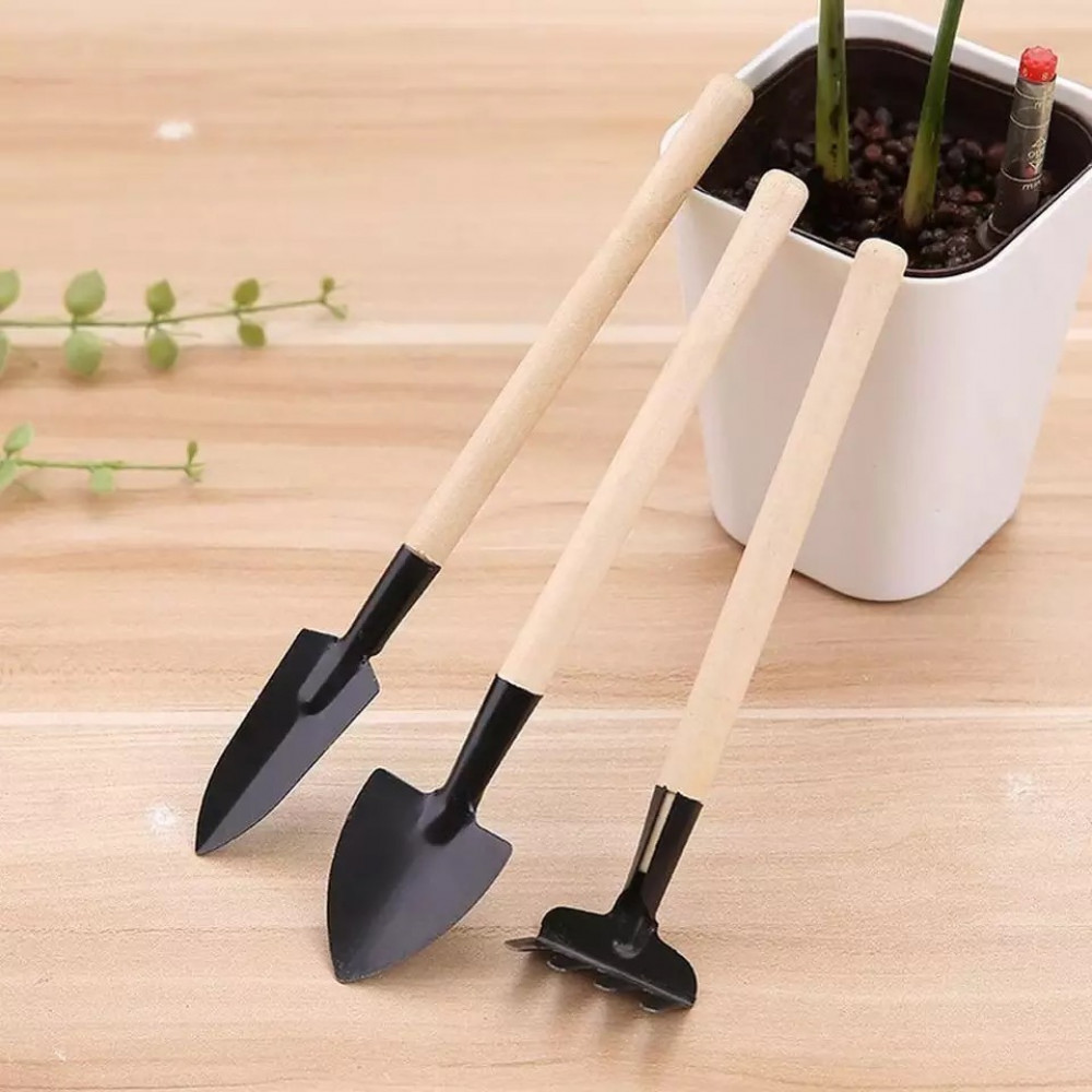 3 قطع صغيرة لأدوات البستنة