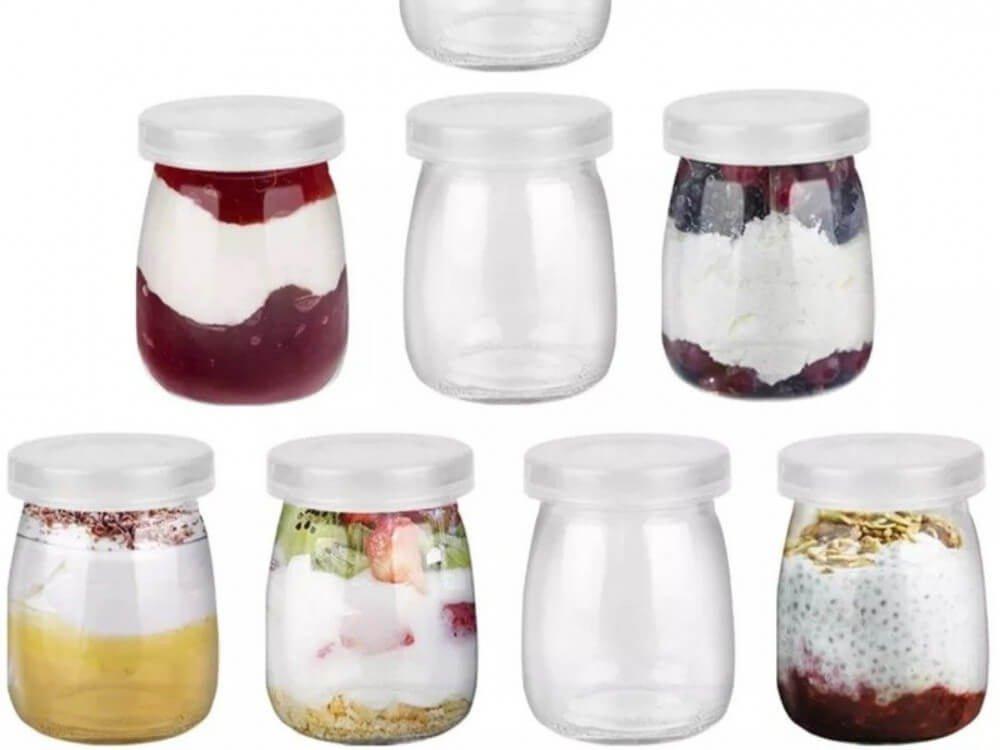 قوارير بلاستيك للعصيرات والحلويات