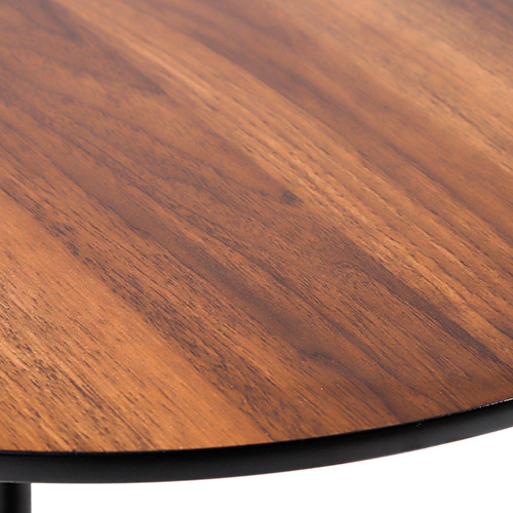 مواسم طاولة قهوة موديل سيرينا خشبية صورة تقريبية لسطح الطاولة