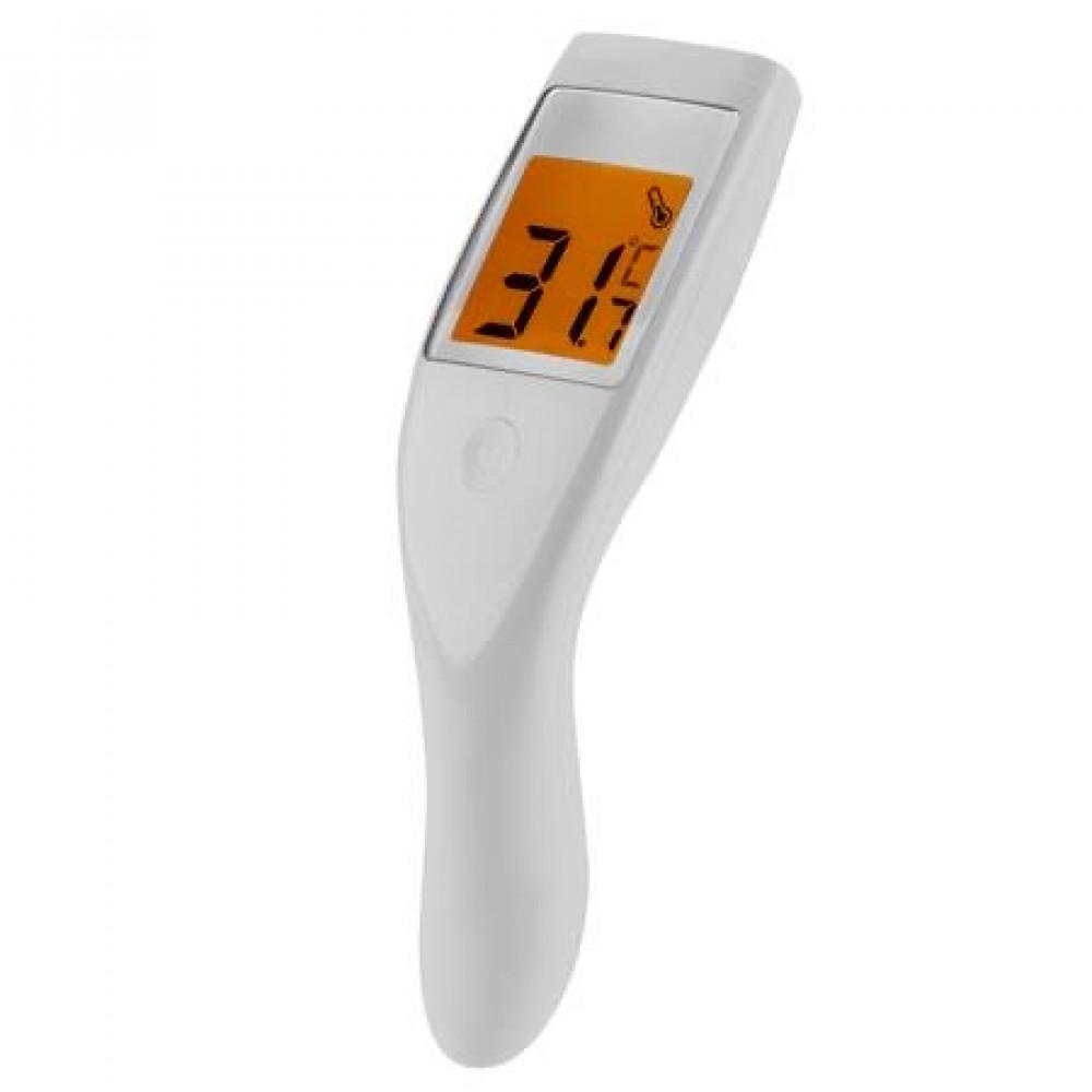 قرين اكستريم Th 100 مقياس حرارة الجبهة الرقمي بدون تلامس بالاشعة تحت الحمراء Green Extreme Th 100 Digital Non Contact Infrared Forehead Thermometer أكسجين وهيليوم للغوص والتصوير