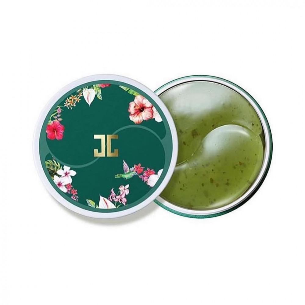 جيجون لاصقات العين بالشاي الأخضر يحتوي على 60 قطعة