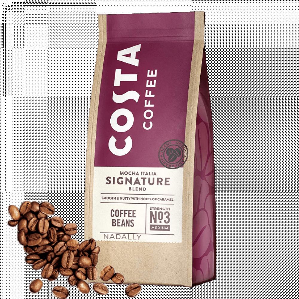 كوستا حبوب قهوة كاملة سيجنتشر بلند