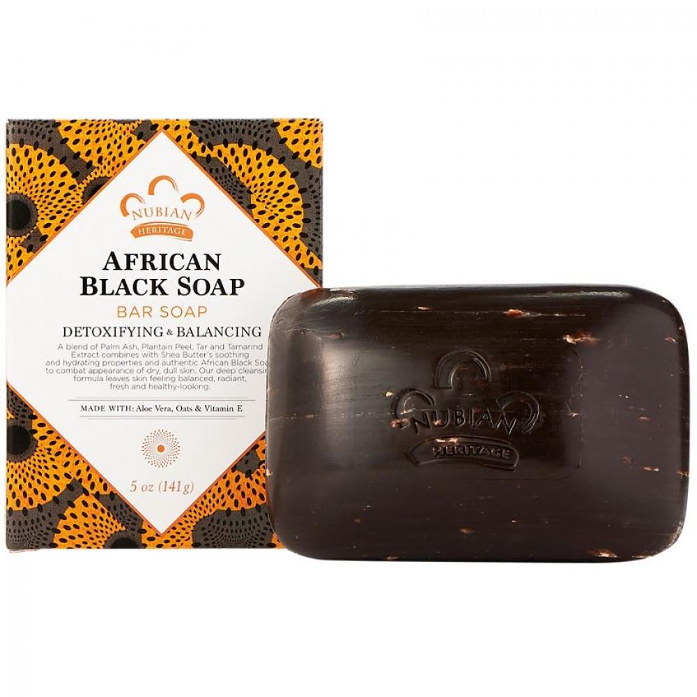 African Black Soap الصاابون الافريقي
