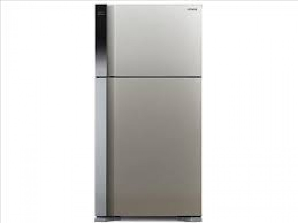 ثلاجة هيتاشي 18 قدم فضي R V660ps7k Bsl آساد للتكييف والأجهزة المنزلية