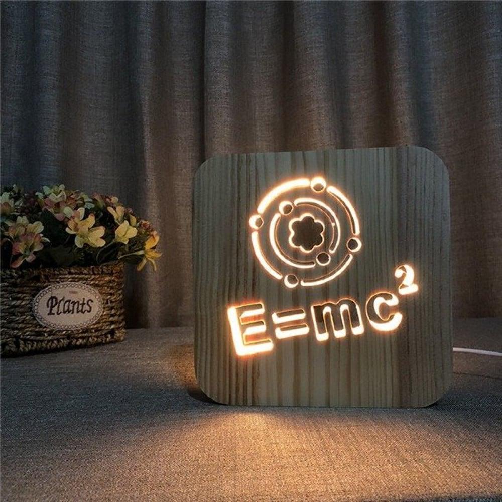 مواسم تحفة فنية إضاءة ليد مزودة بقاعدة مناسبة للمنزل أو المكتب