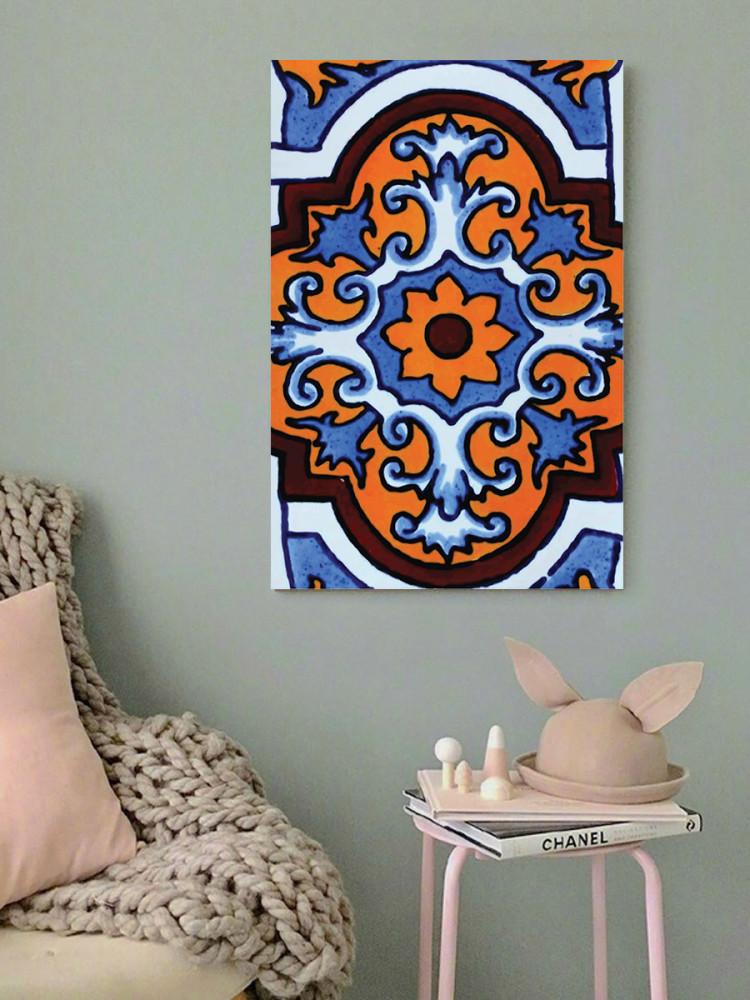 لوحة زخرفة خشب ام دي اف مقاس 40x60 سنتيمتر