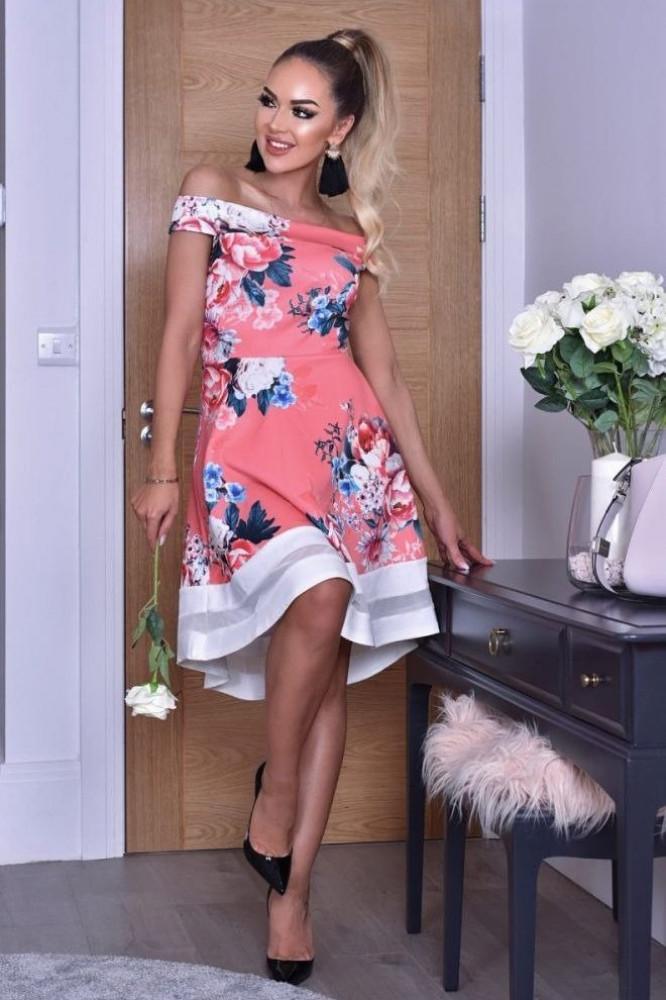 فستان منفوش قصير