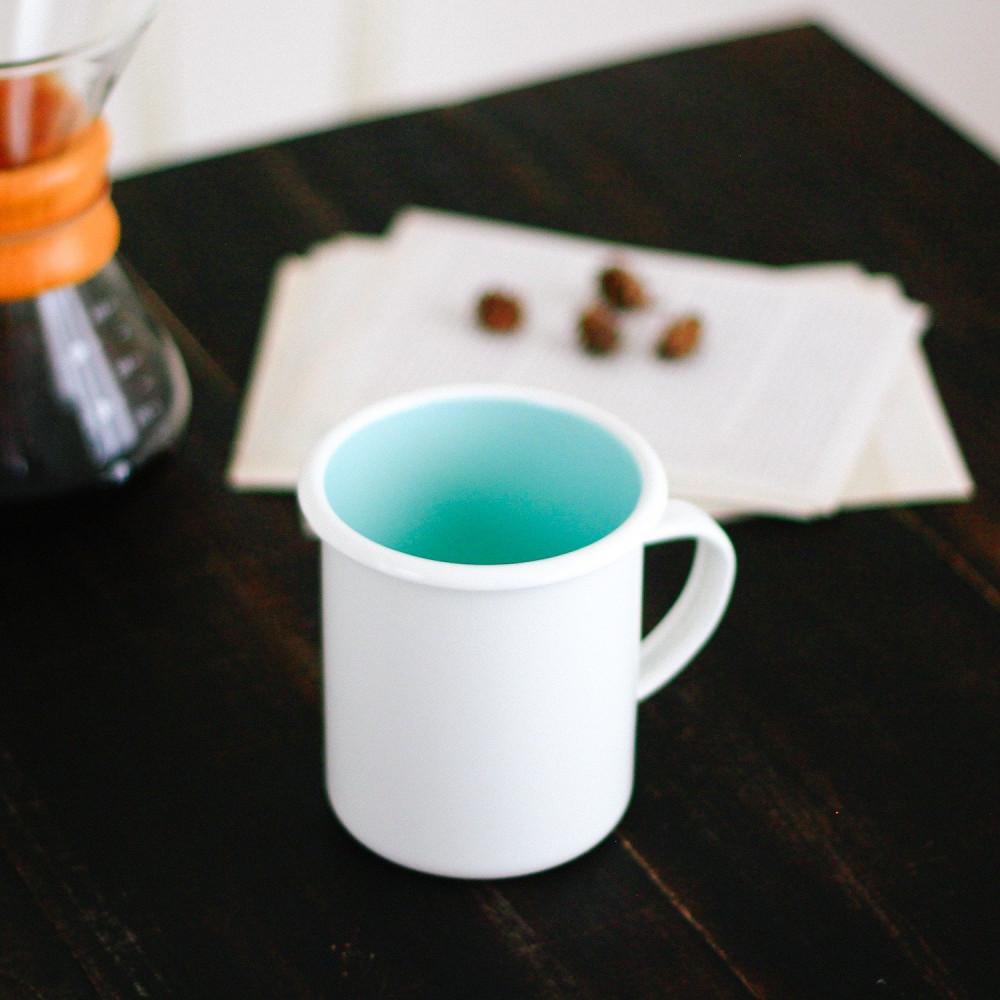 أكواب للتخييم كوب معدني أكواب المينا أواني المينا كوب قهوة متجر قهوة