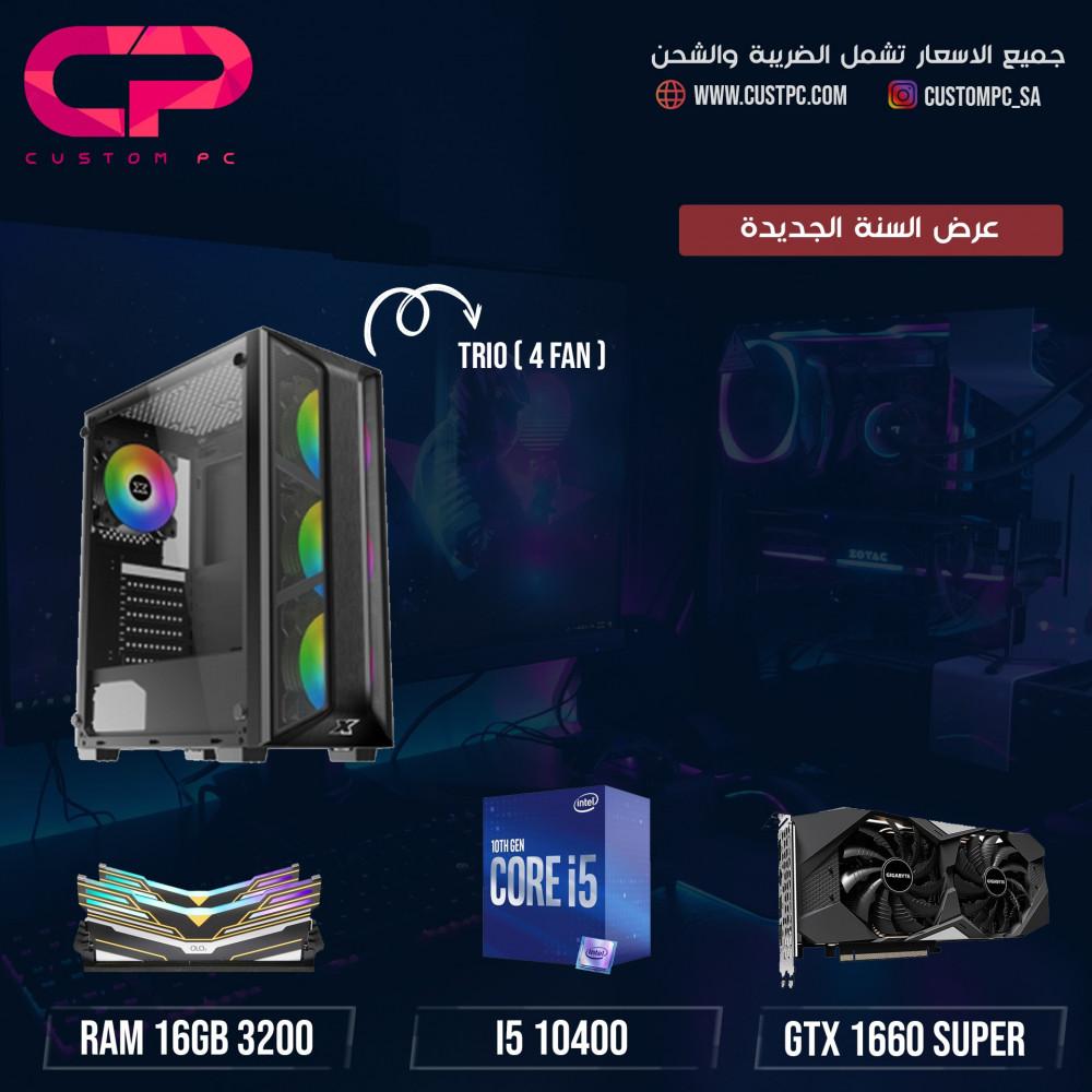 i5 10400 GTX 1660 super تجميعة كمبيوتر PC GAMING