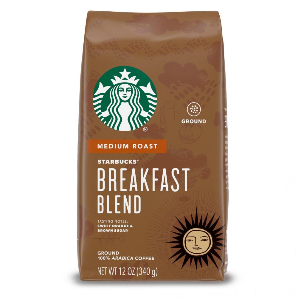 قهوة ستاربکس مطحونة بريكفاست بليند