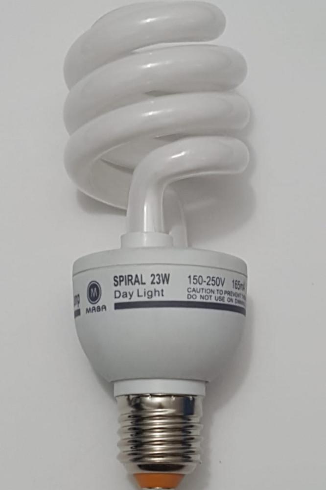 لمبة ايسكريم 23W  220V ابيض توفير الطاقة
