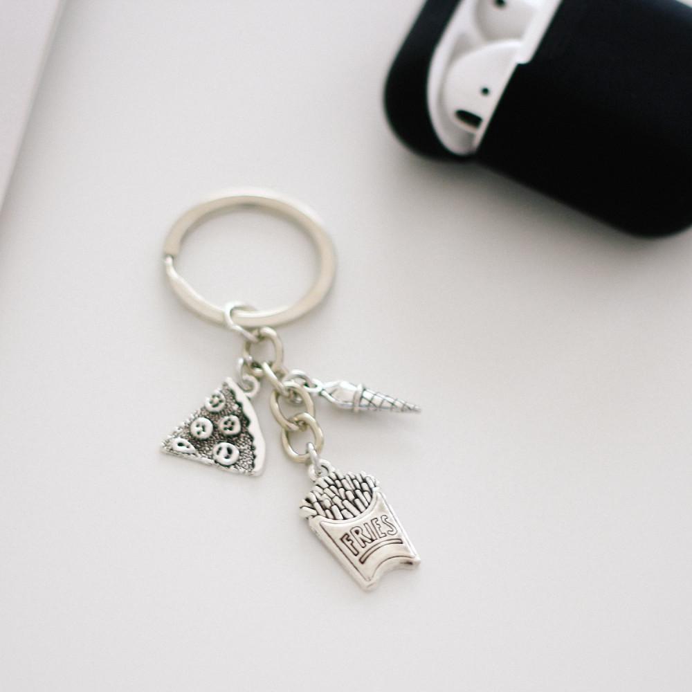 ميدالية مفاتيح ميدالية سيارة ميداليات فرايز  بيتزا هدايا نسائية رجالية