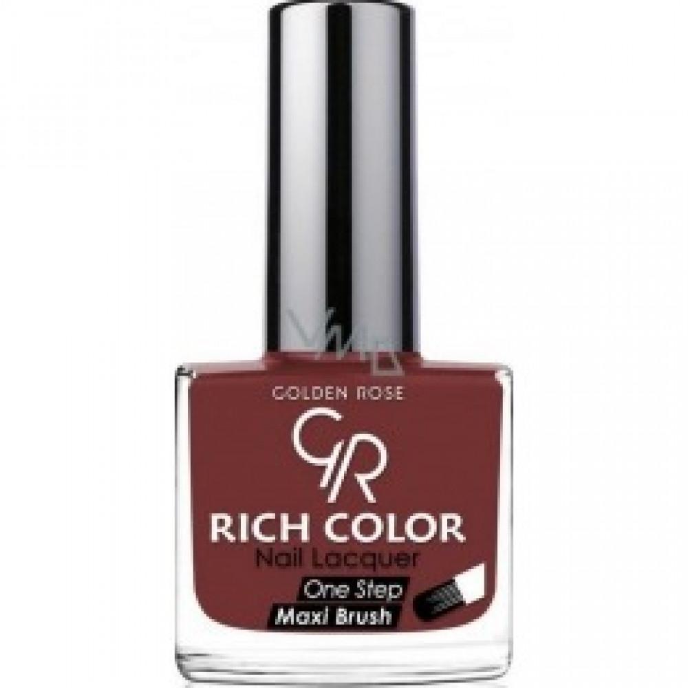 مناكير قولدن روز ريتش كلور  GOLDEN ROSE Rich Color Nail Lacquer 156