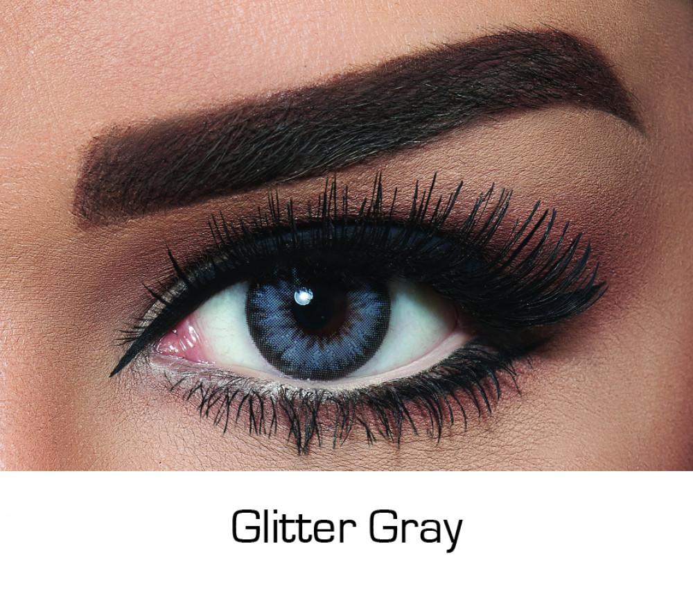 Bella Diamond Glitter Gray