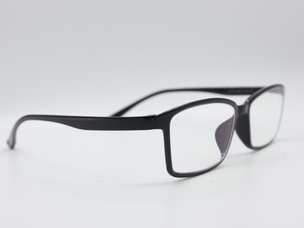 نظارة قراءه من ماركة POSS DESIGN للجنسين بإطار أسود نحيف إطلالات 2021