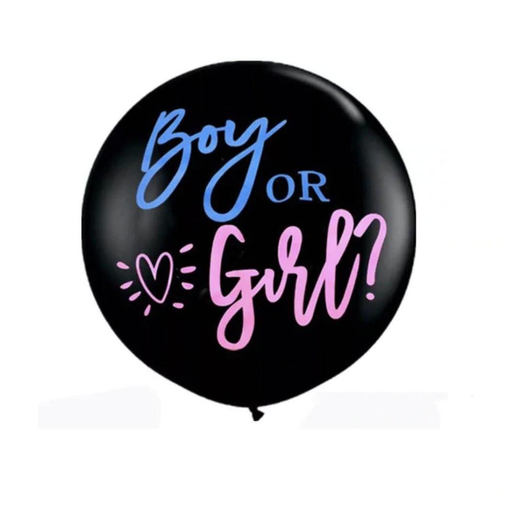 بالون حفلة تحديد جنس المولود مستلزمات حفلة الكشف عن جنس الجنين متجر