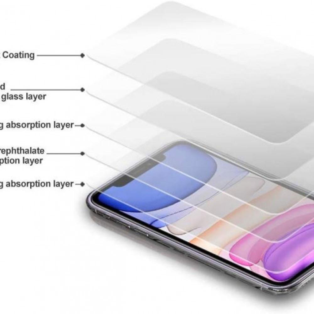 ارمر استكر حماية قزاز للشاشة 3D لأيفون 11 برو ماكس من جوبوكي
