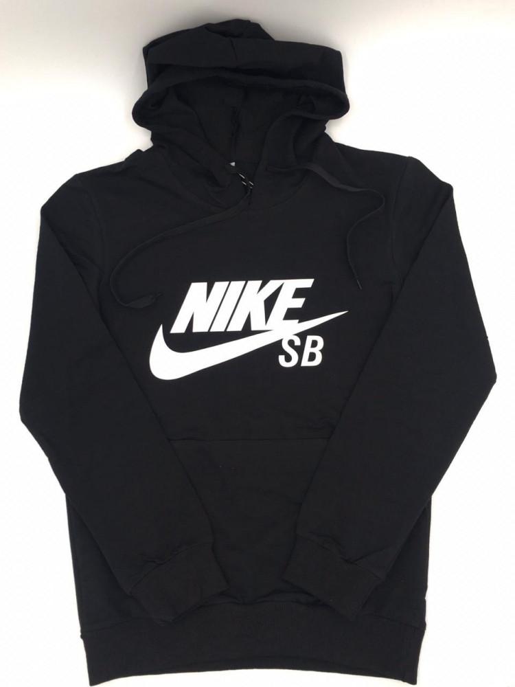 بلوفر Nike اسود مع قبوع تركي