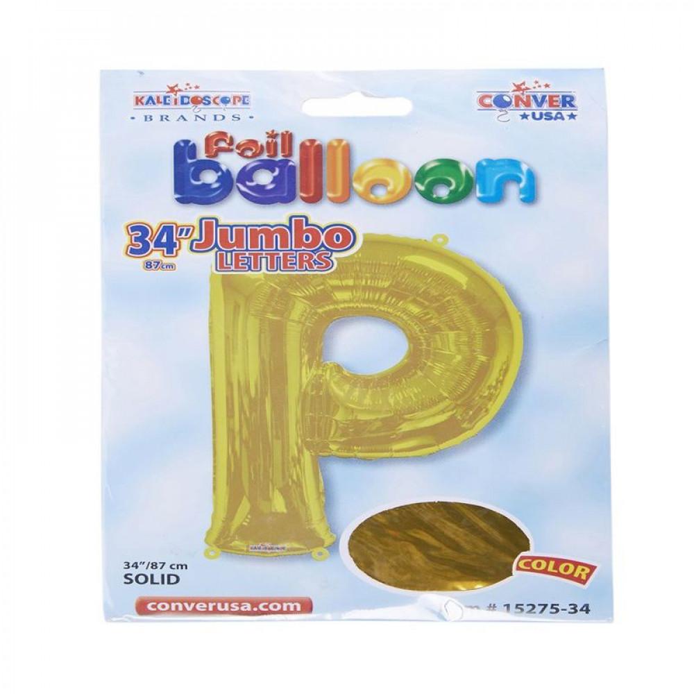 بالون ذهبي, Golden Balloon, بلونات أحرف, بالون حرف P