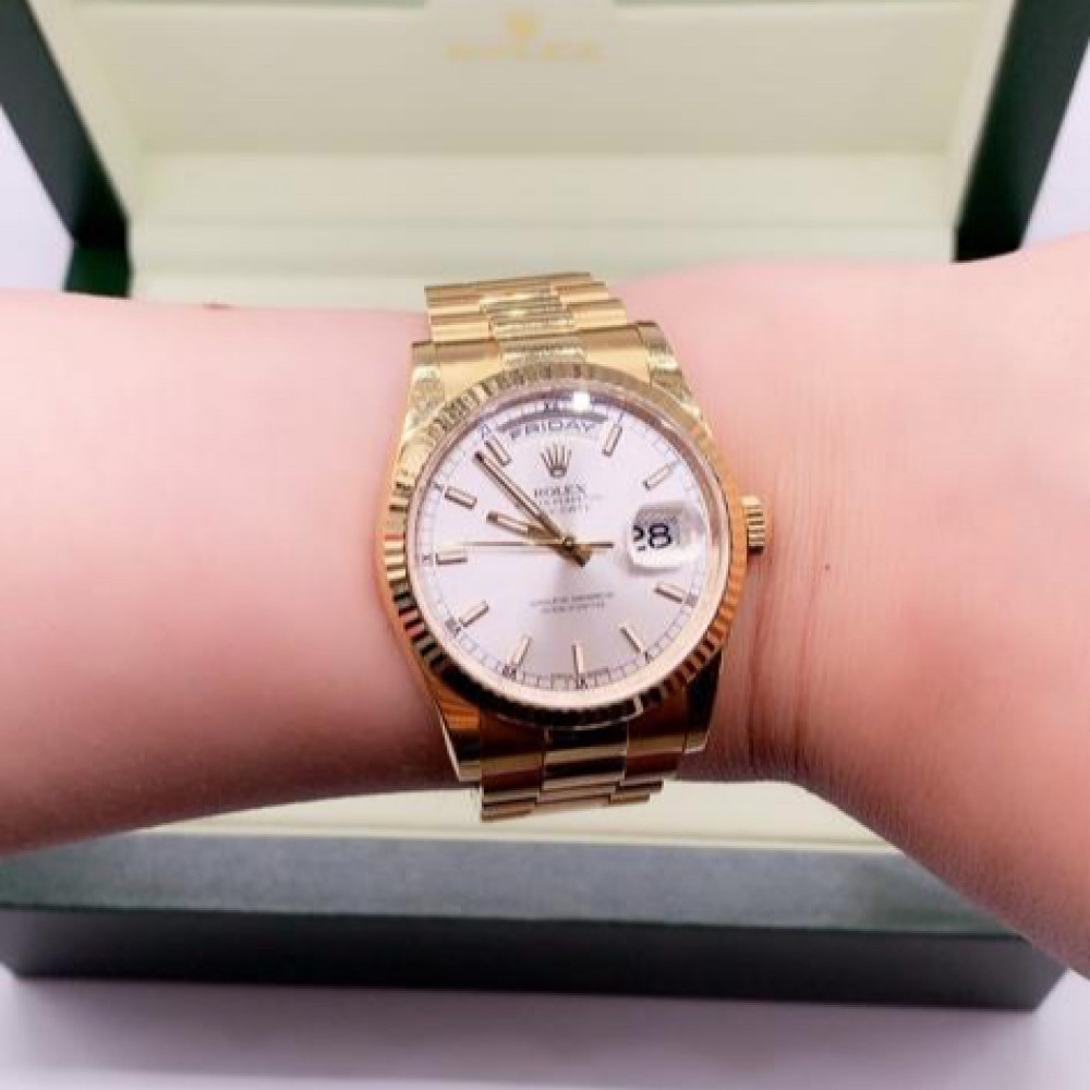 Rolex Day-Date 118238 Watch with 18