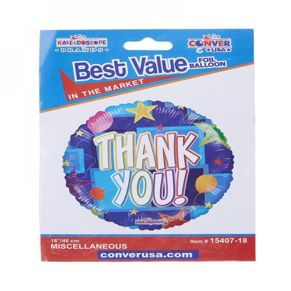 بالون الشكر, بلونات أشكال, Thank you balloon