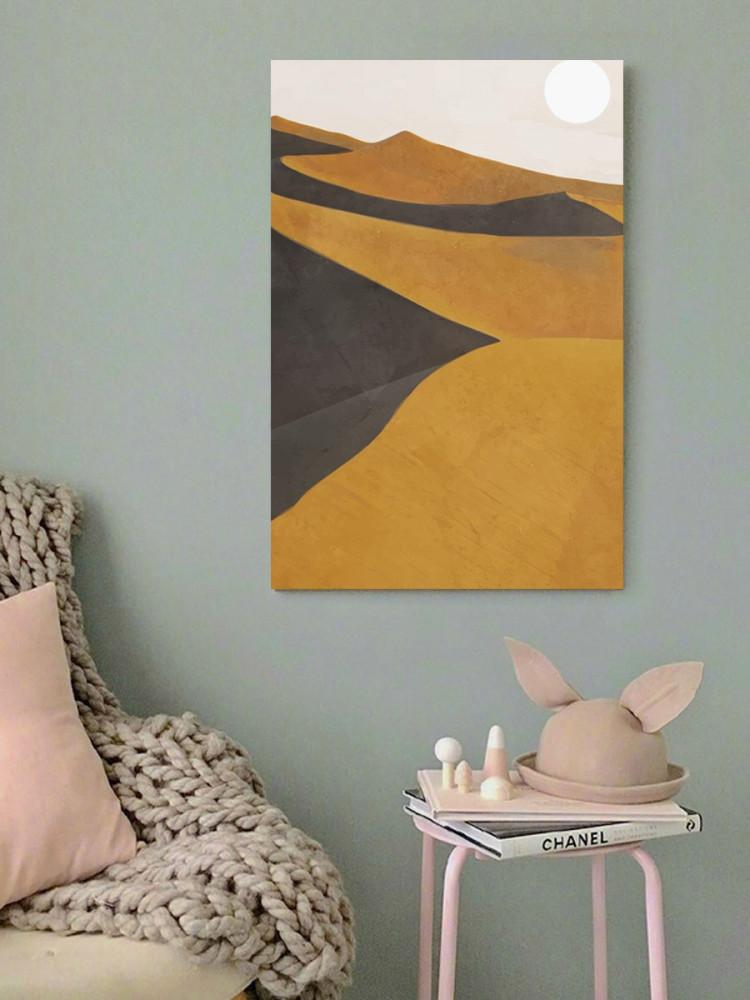 لوحة صحراء خشب ام دي اف مقاس 40x60 سنتيمتر