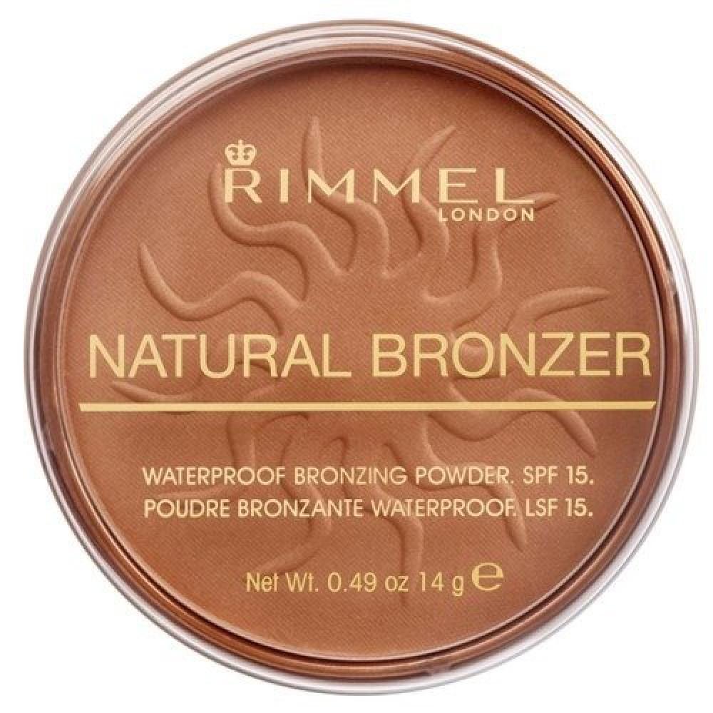 Rimmel Natural Bronzer Powder No 025 Sun Glow 14g متجر خبير العطور