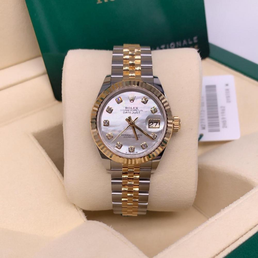 ساعة رولكس Rolex ديت جست الأصلية الثمينة جديدة تماما 279173