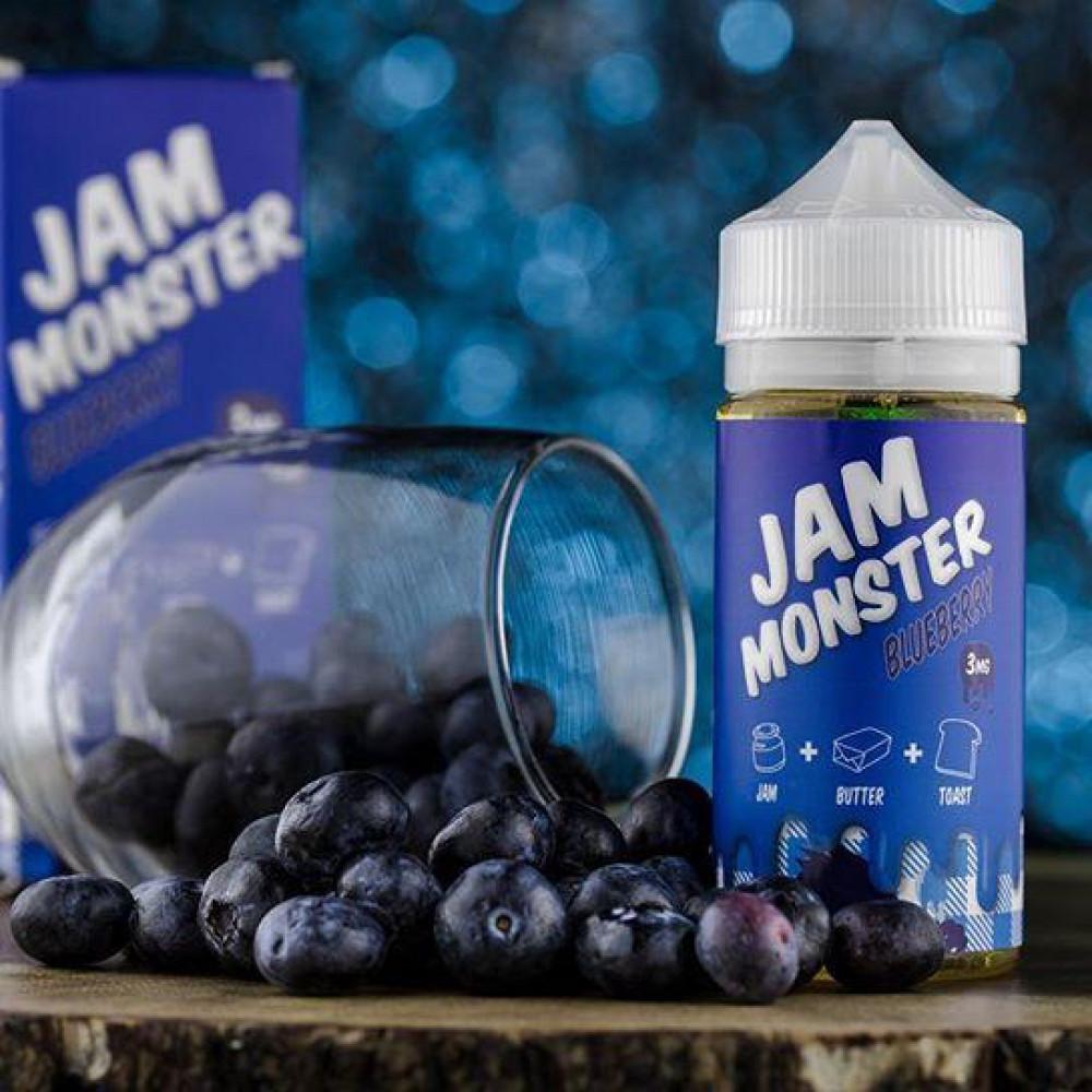نكهة جام مونستر بلوبيري JAM MONSTER BLUEBERRY