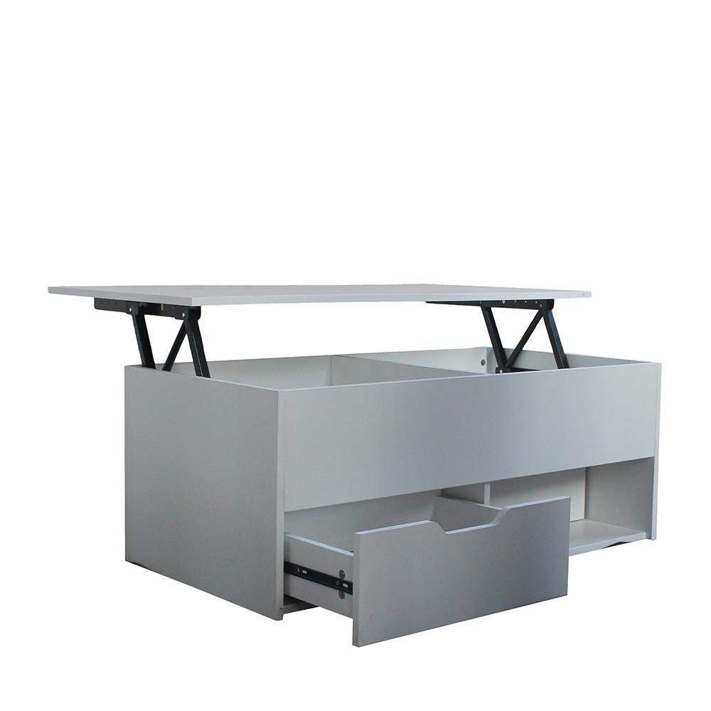 طاولة قهوة روز ارت بتصميم انسيابي وعصري لسهولة التحكم في حركة السطح