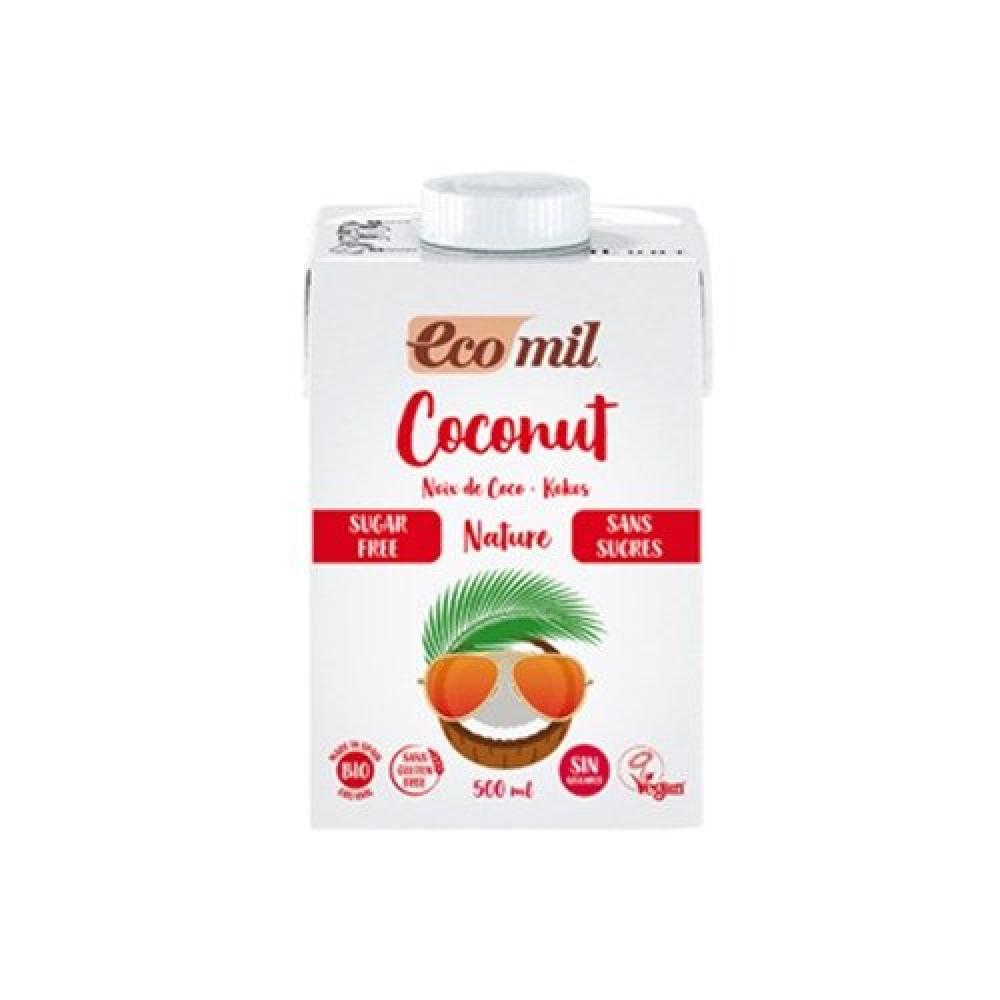 حليب جوز الهند خالي من السكر 500 مل