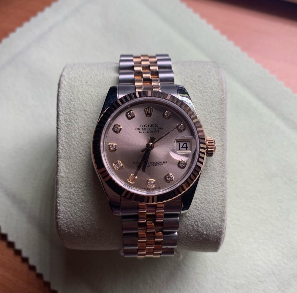 ساعة رولكس الاصلية الثمينة مستعملة