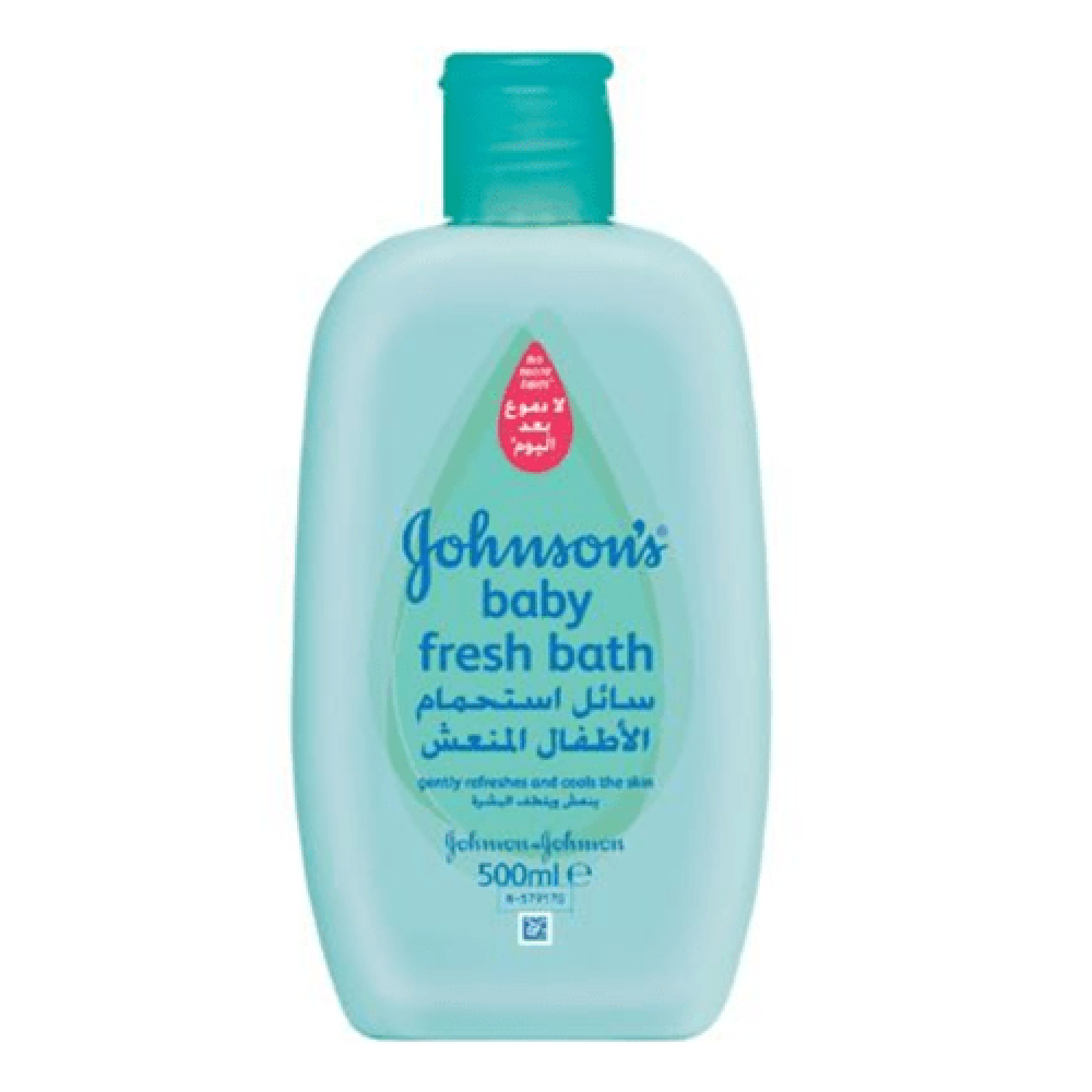 سائل استحمام الأطفال المنعش من جونسون - 500 مل