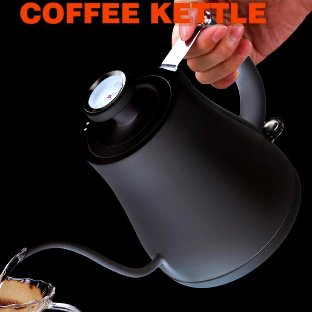 غلاية تقطير مقياس حرارة brewing kattel