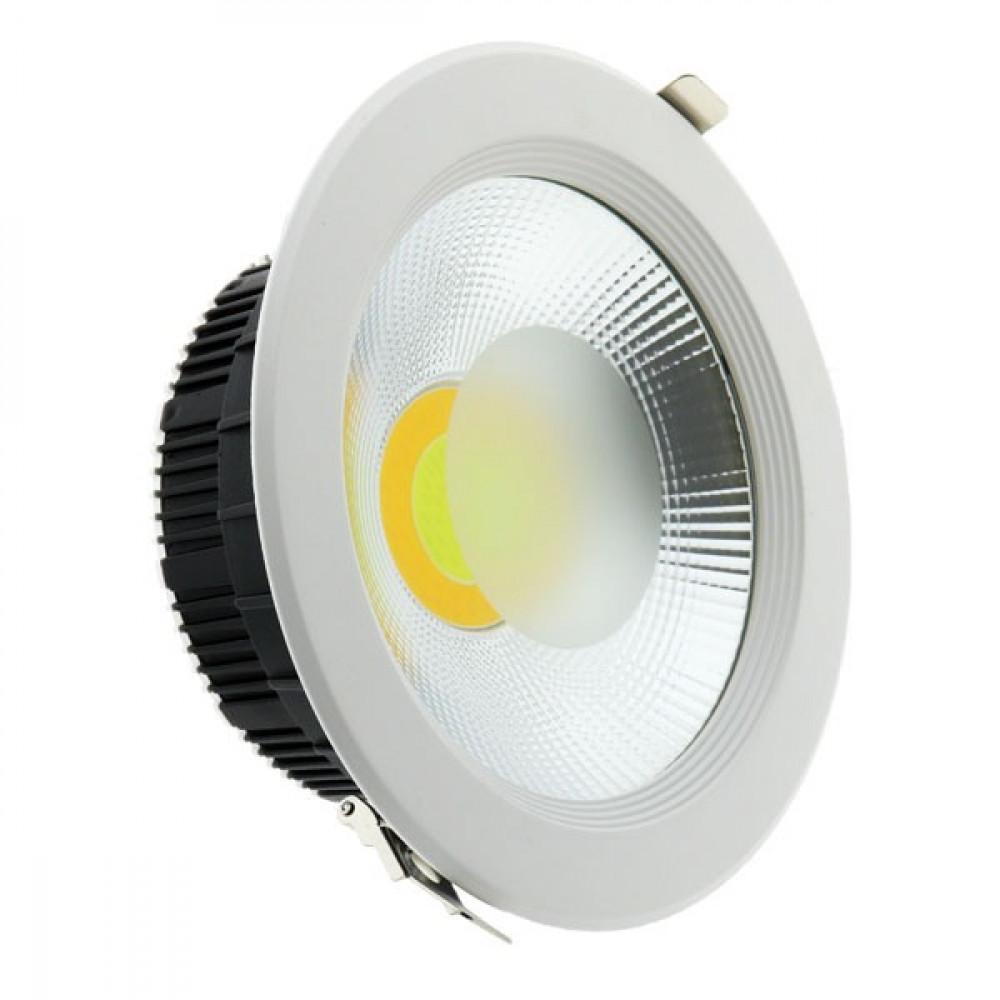 مصباح لد دائري داخلي مخفي 8 شمعه 220 فولت 50-60 سايكل اللون اصفر
