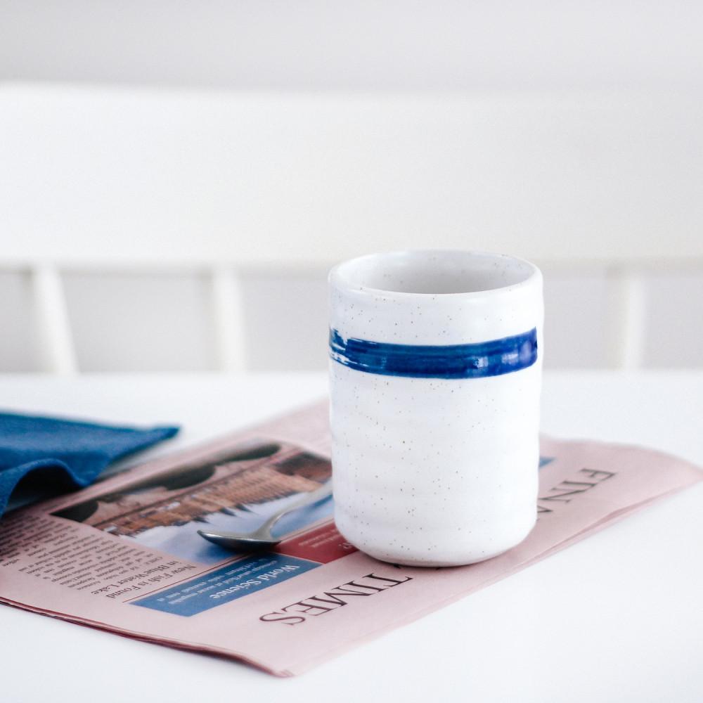 كوب حجري صناعة يدوية  أدوات القهوة المختصة كوب لاتيه كوب هدية هدايا