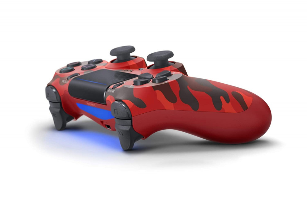 DualShock 4 Wireless Controller for PlayStation 4 - Red Camo