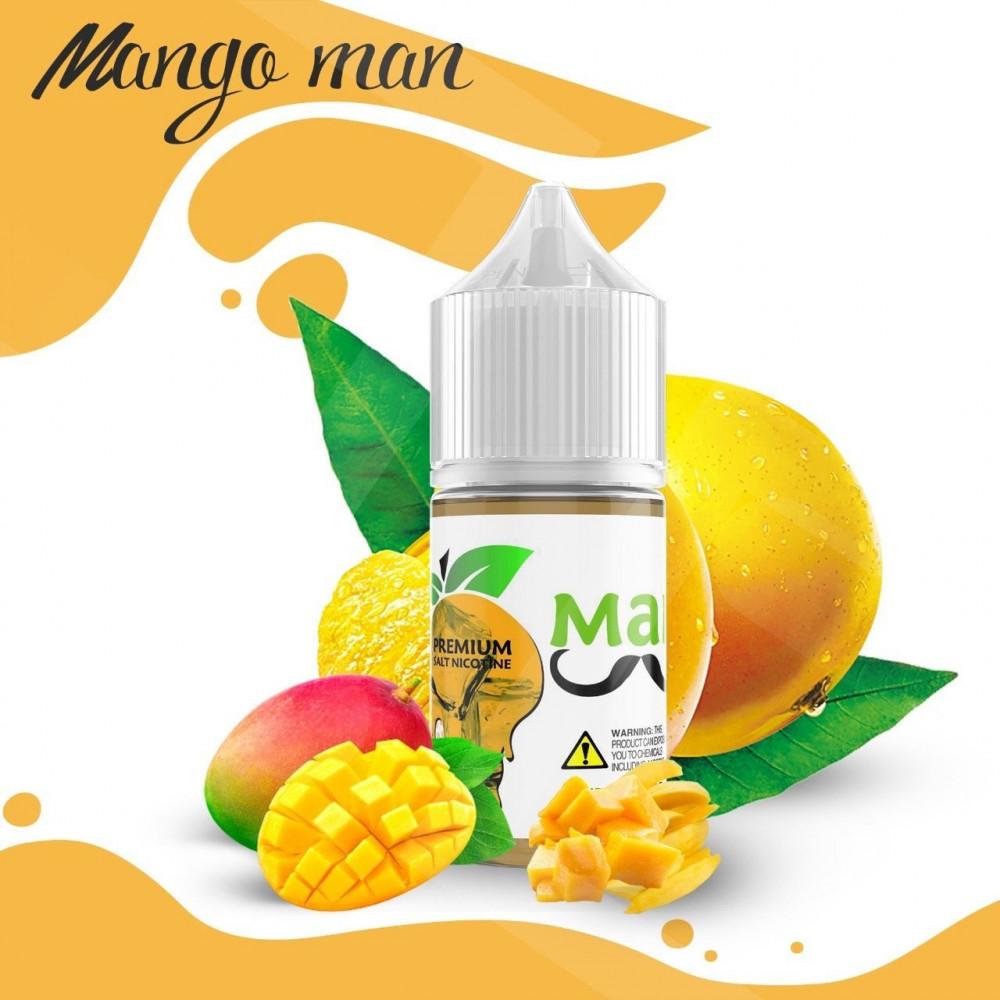 نكهة برايميم ايس مانجو سولت نيكوتين - PREMIUM Mango Man iced - Salt Ni