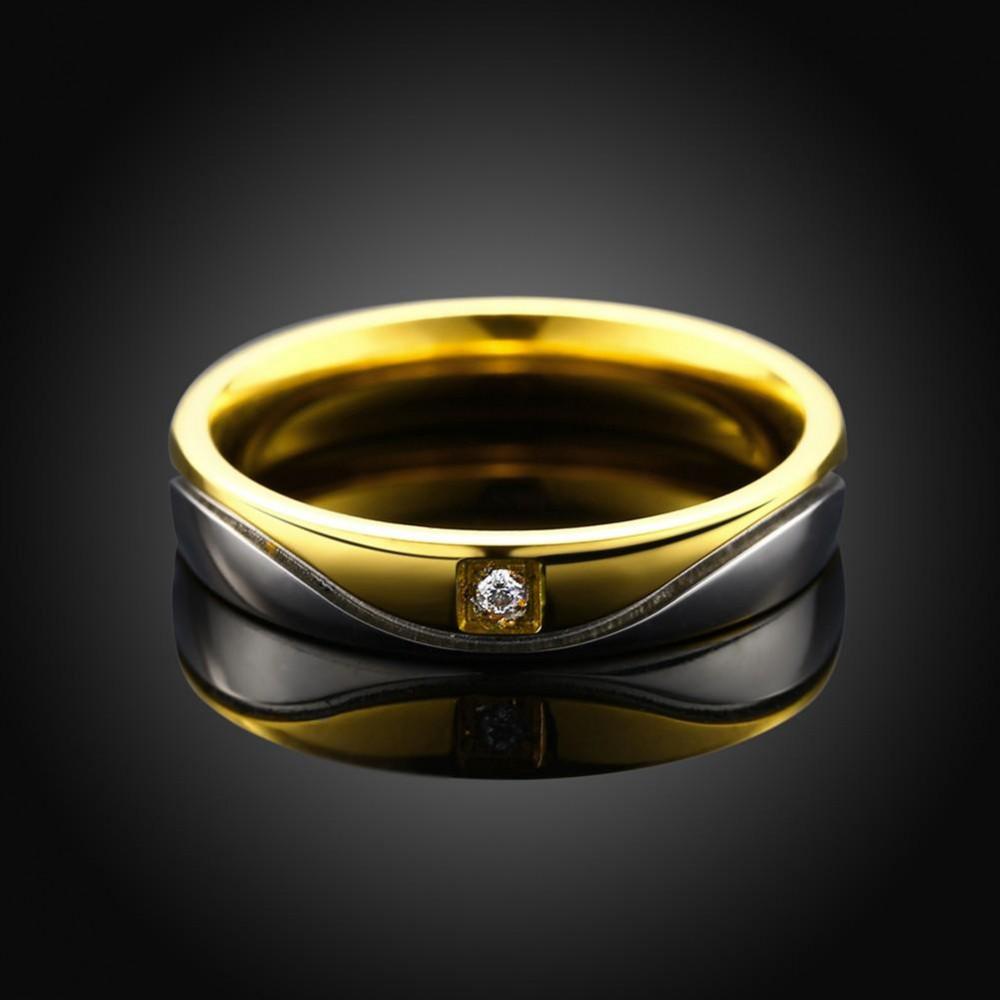 خاتم الزوجين مقاوم للصدأ