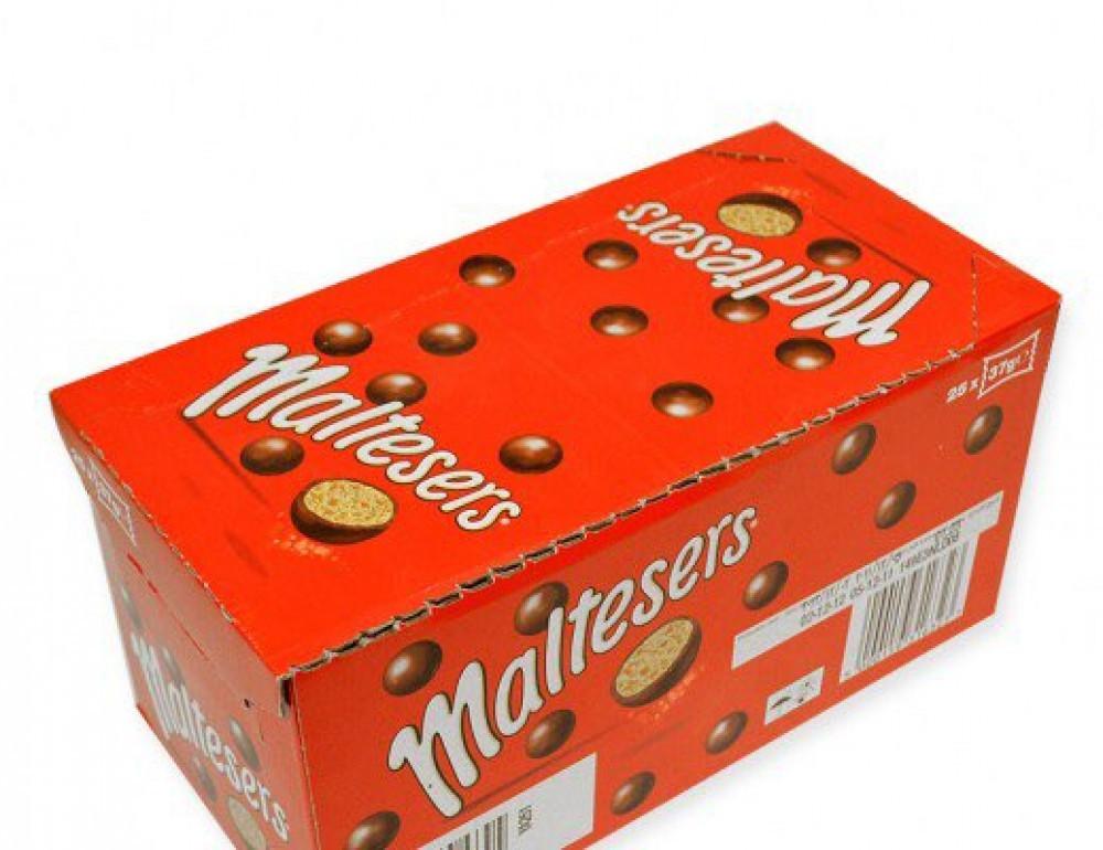 كرتون مالتيزرز شوكولاتة بالحليب 25 37غ اسواق المحسن